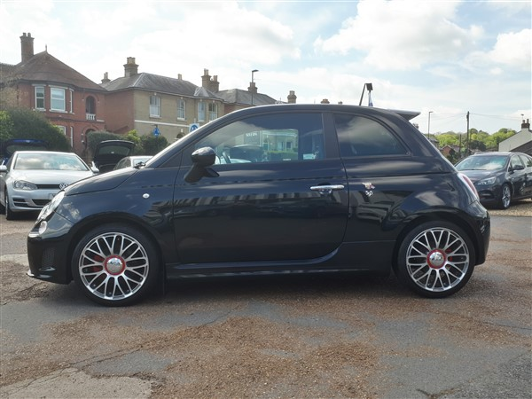 Image of Abarth 595 Used Car For Sale on the Isle of Wight for Vehicle 7567