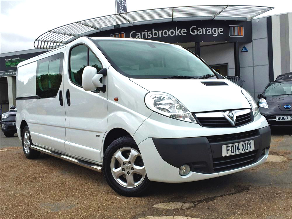 Image of Vauxhall Vivaro Used Car For Sale on the Isle of Wight for Vehicle 7575