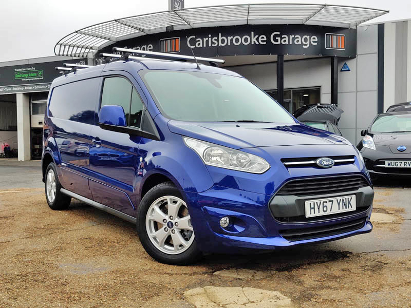Image of Ford Transit Connect Used Car For Sale on the Isle of Wight for Vehicle 7580
