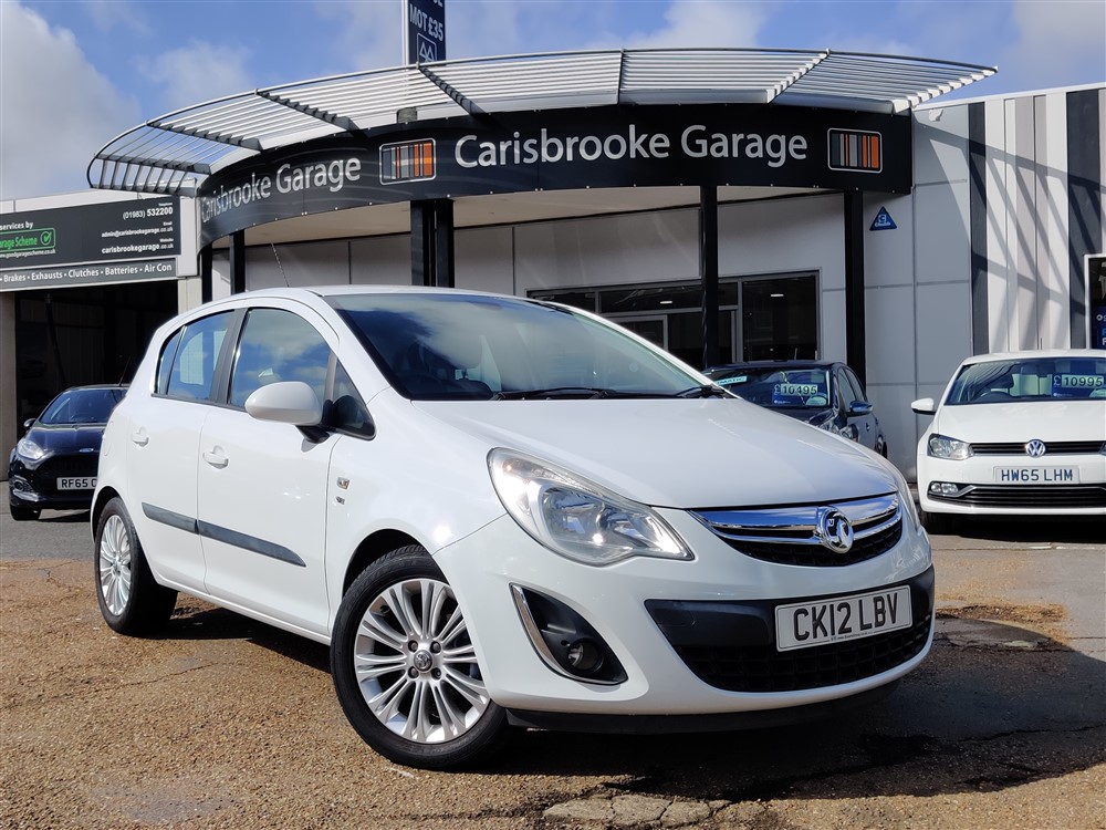 Image of Vauxhall Corsa Used Car For Sale on the Isle of Wight for Vehicle 7584