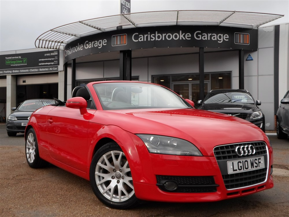 Image of Audi TT Roadster Used Car For Sale on the Isle of Wight for Vehicle 7596