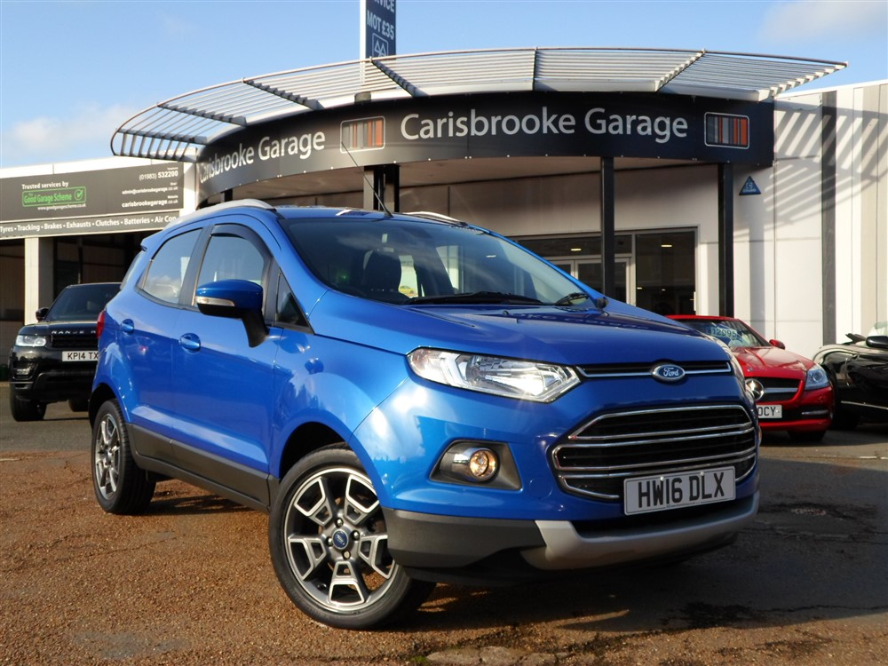 Image of Ford Ecosport Used Car For Sale on the Isle of Wight for Vehicle 7599