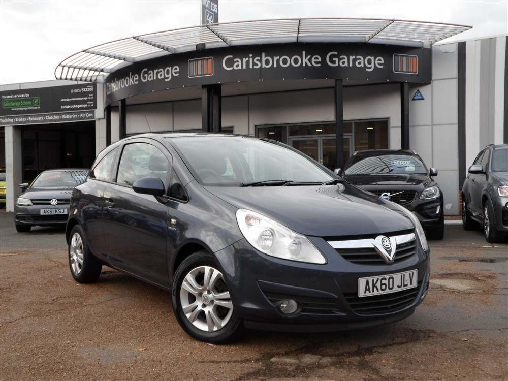 Image of Vauxhall Corsa Used Car For Sale on the Isle of Wight for Vehicle 7602