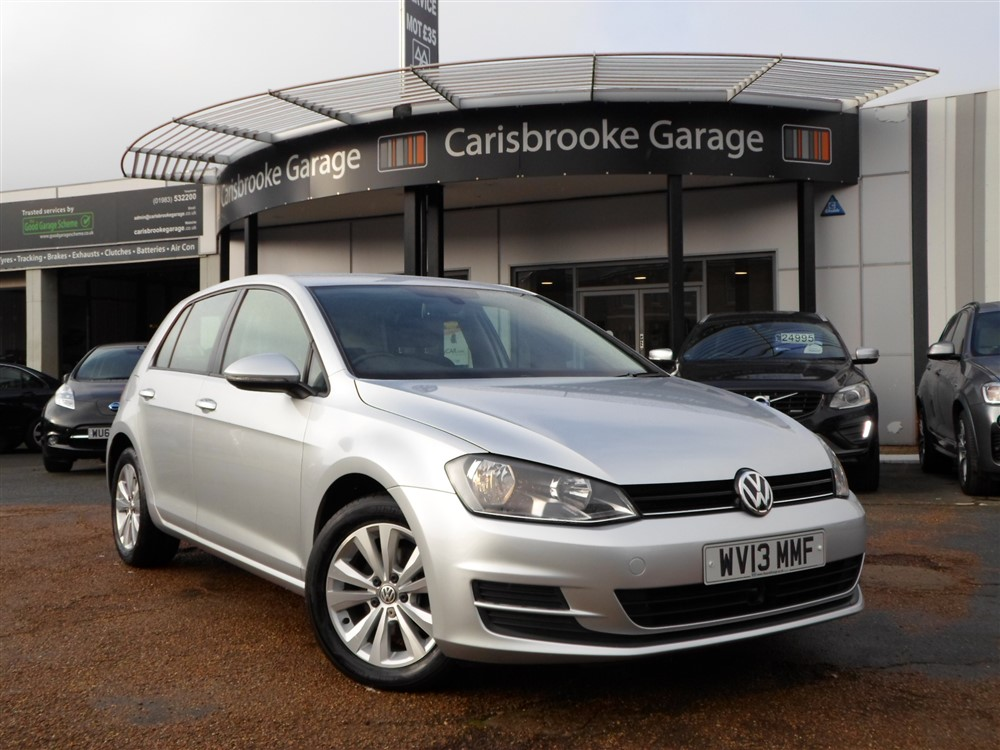 Image of Volkswagen Golf Used Car For Sale on the Isle of Wight for Vehicle 7605