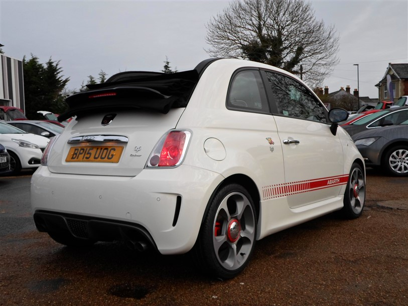 Car For Sale Abarth 595C - BP15UOG Sixers Group Image #2