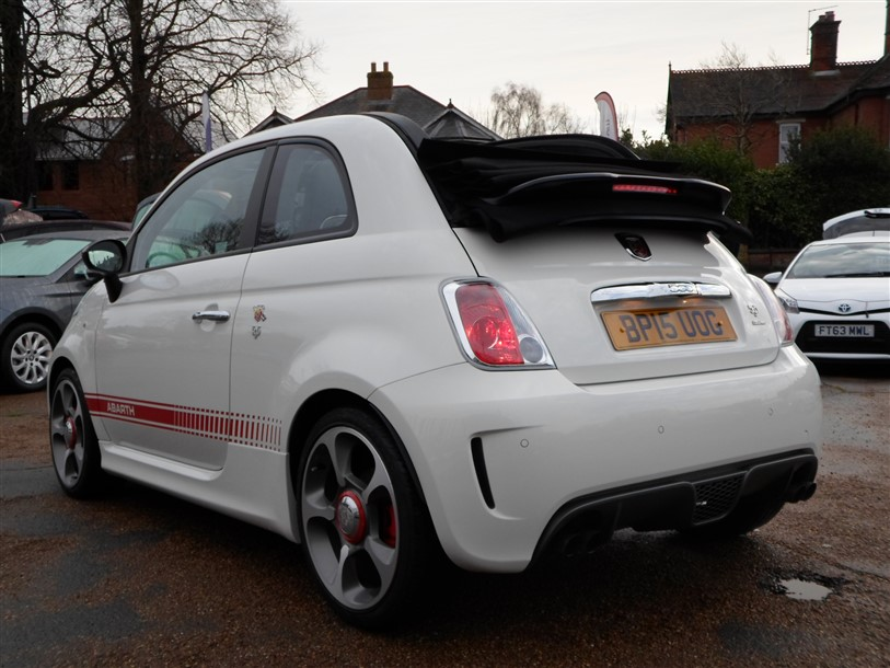 Car For Sale Abarth 595C - BP15UOG Sixers Group Image #4