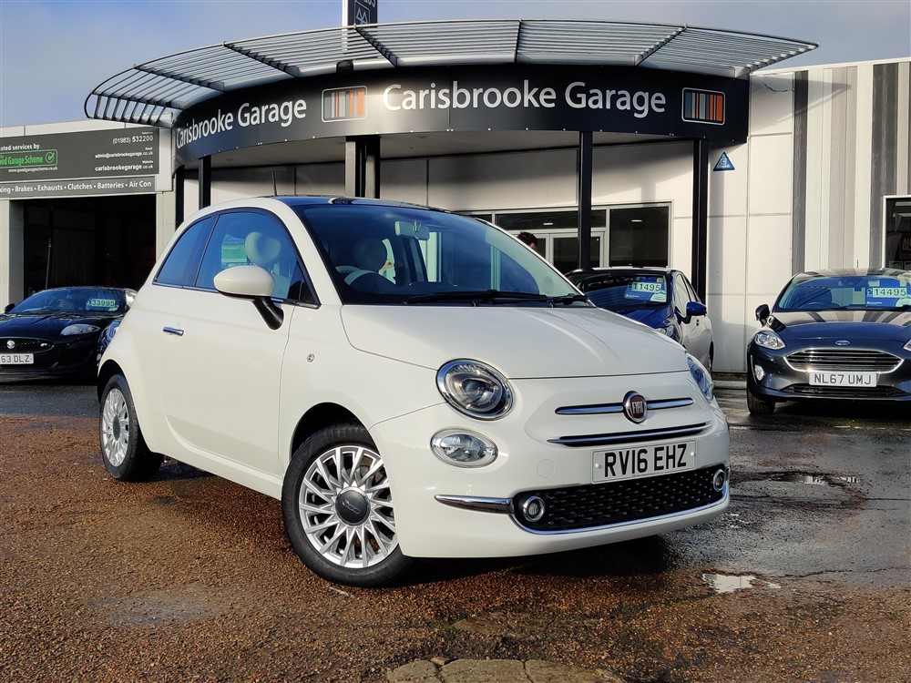 Image of Fiat 500 Used Car For Sale on the Isle of Wight for Vehicle 7636