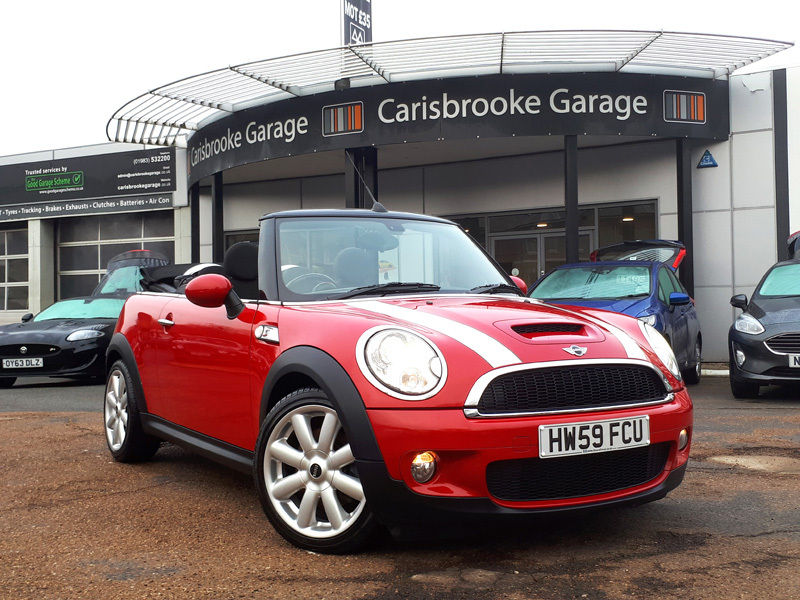 Image of Mini Convertible Used Car For Sale on the Isle of Wight for Vehicle 7641
