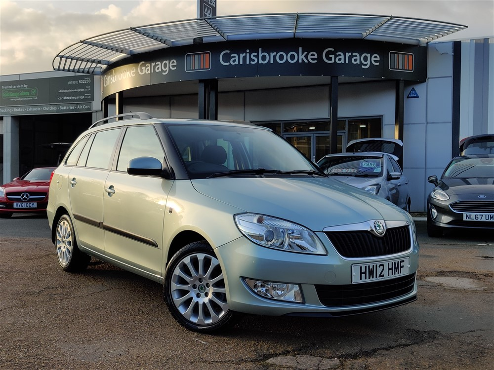 Image of Skoda Fabia Used Car For Sale on the Isle of Wight for Vehicle 7653