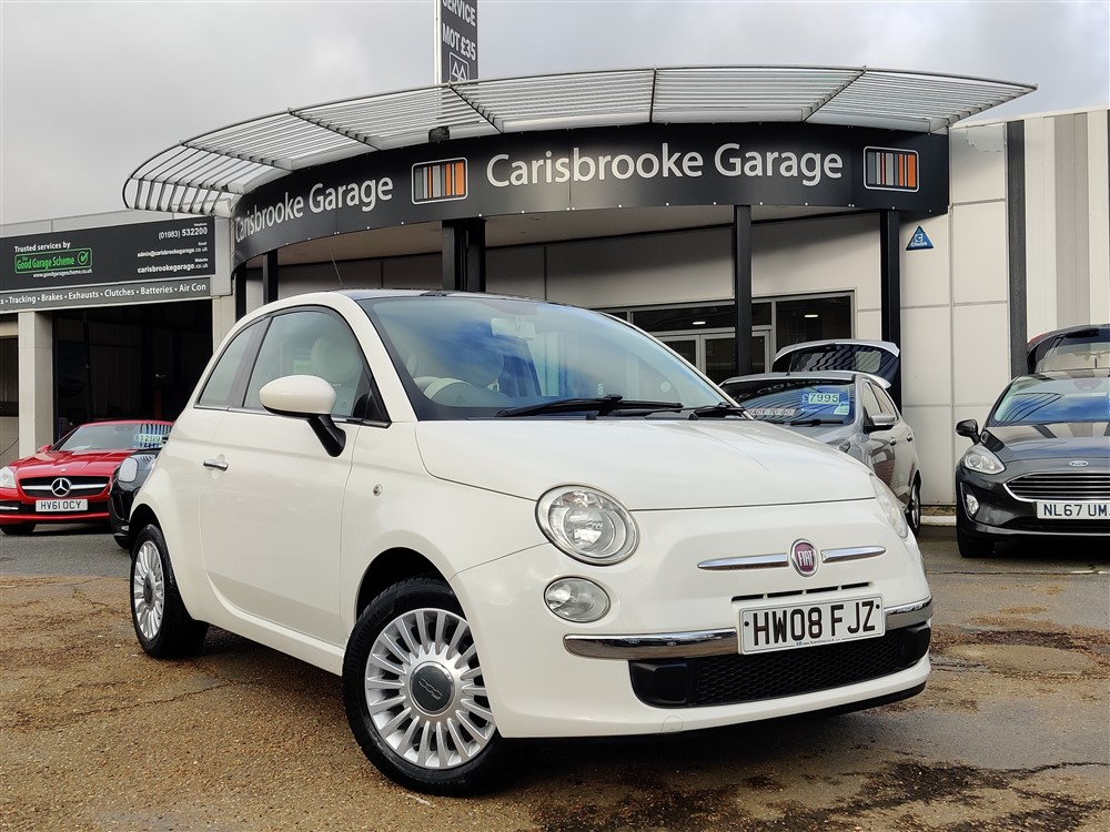 Image of Fiat 500 Used Car For Sale on the Isle of Wight for Vehicle 7661