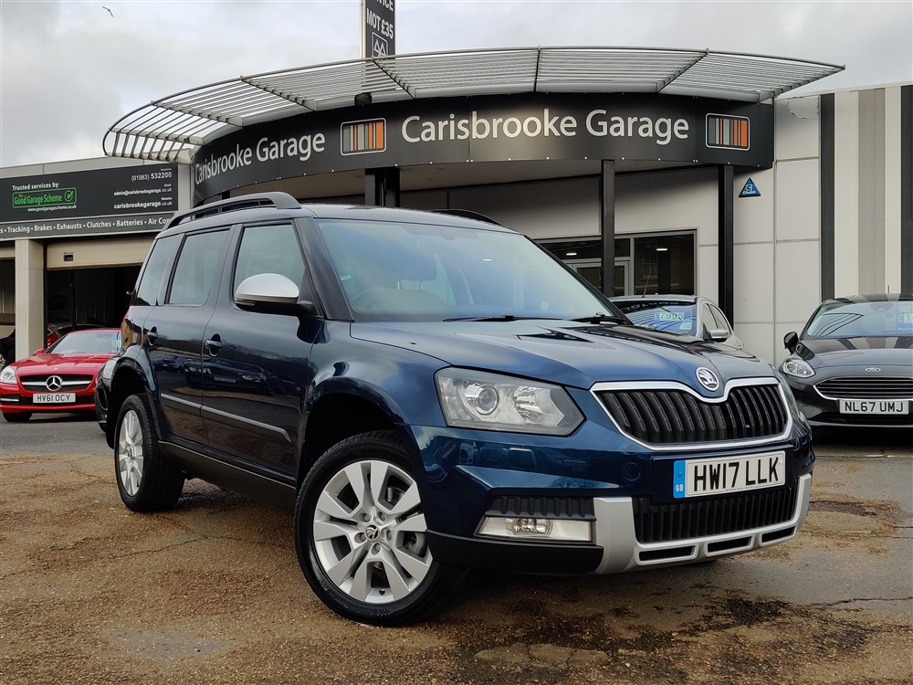 Image of Skoda Yeti Used Car For Sale on the Isle of Wight for Vehicle 7667