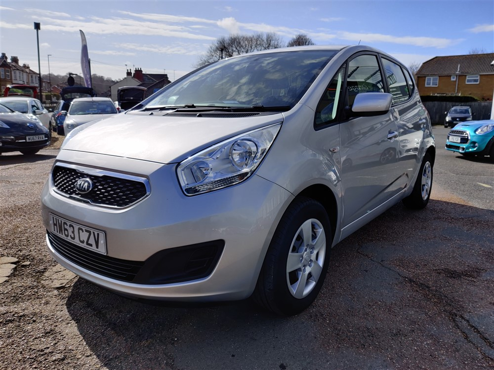 Image of Kia Venga Used Car For Sale on the Isle of Wight for Vehicle 7677