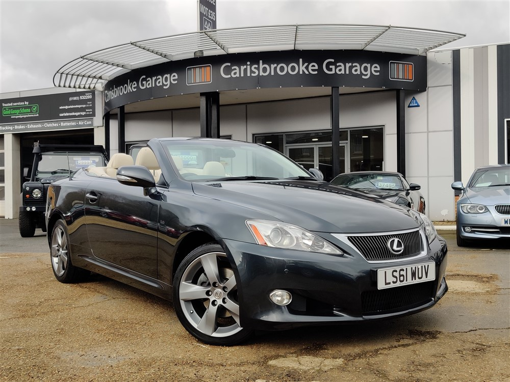 Image of Lexus IS 250 Used Car For Sale on the Isle of Wight for Vehicle 7686