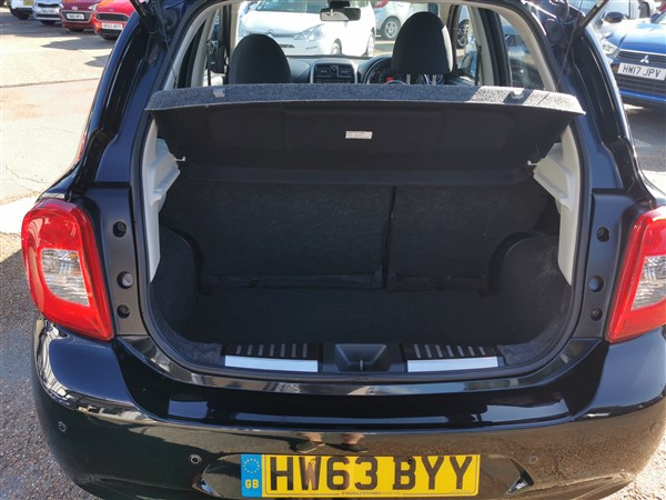 Car For Sale Nissan Micra - HW63BYY Sixers Group Image #7