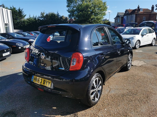 Car For Sale Nissan Micra - HW63BYY Sixers Group Image #8