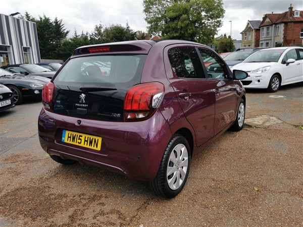 Car For Sale Peugeot 108 - HW15HWN Sixers Group Image #8