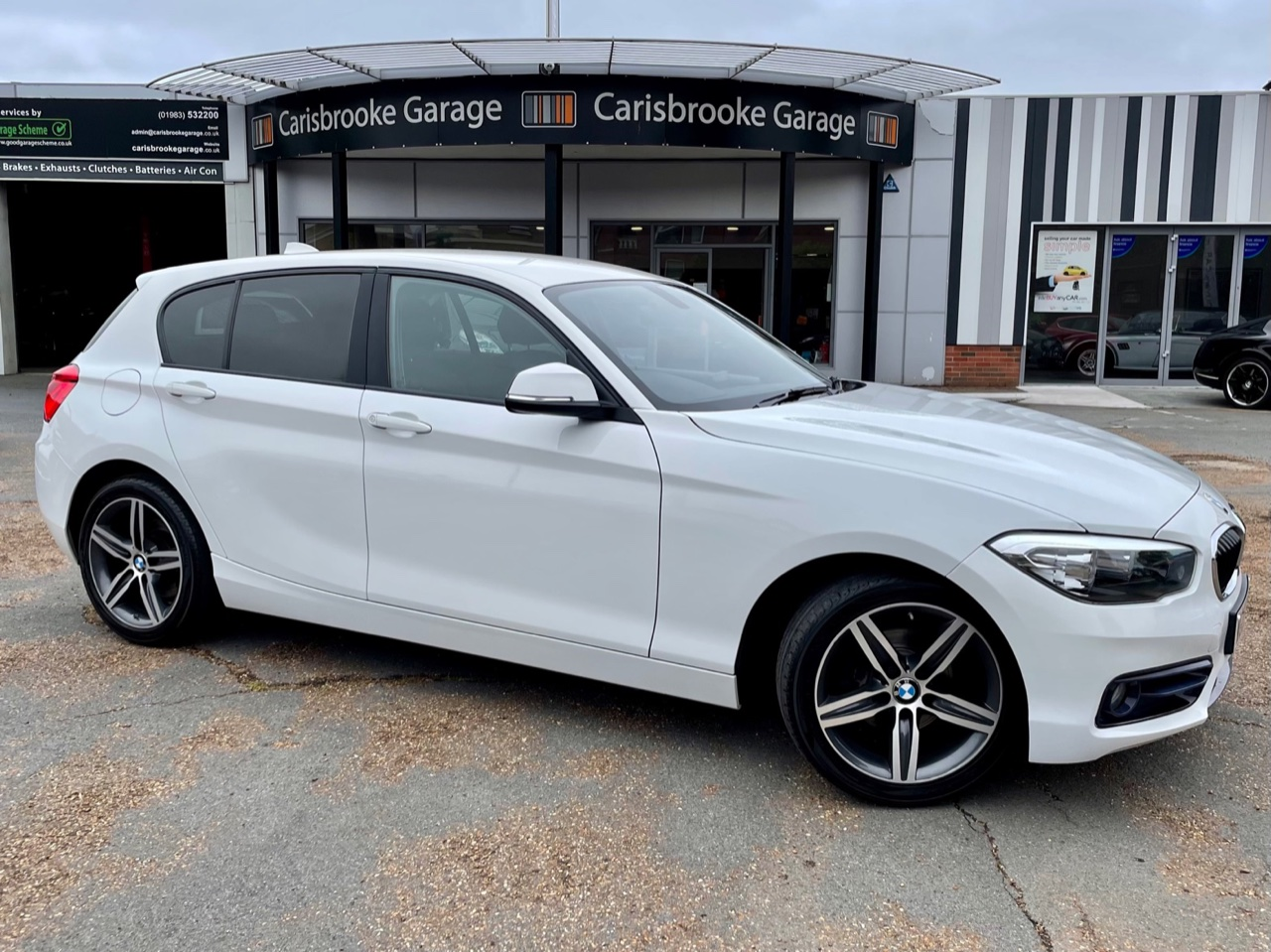 Car For Sale BMW 1 Series - WG65YWE Sixers Group Image #0
