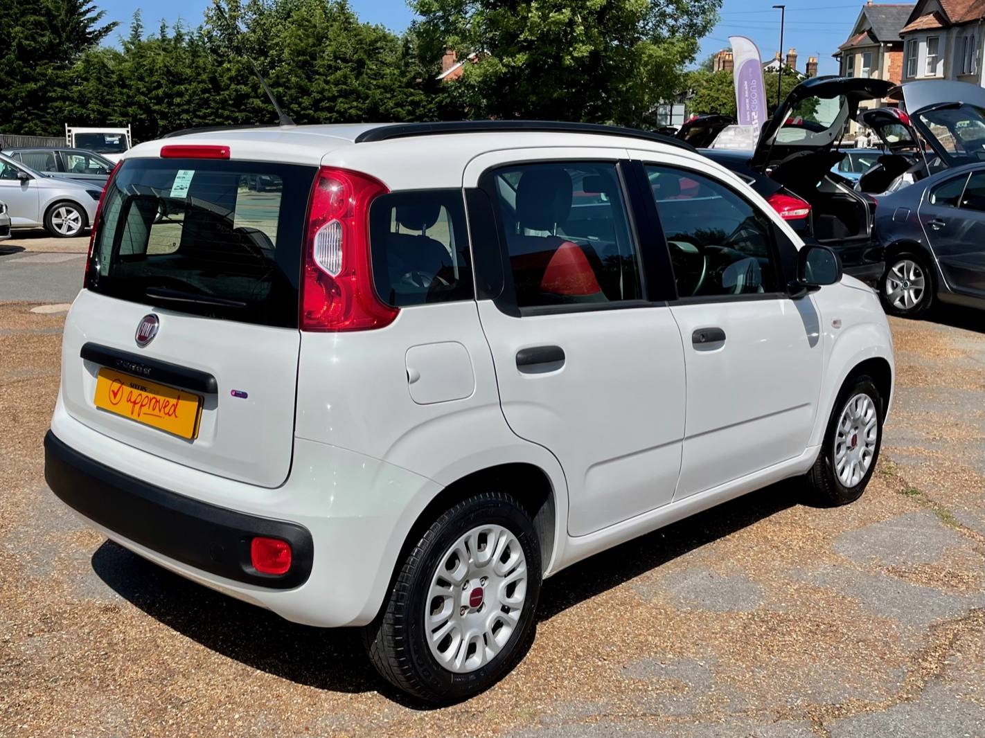 Car For Sale Fiat Panda - HK64EZV Sixers Group Image #4