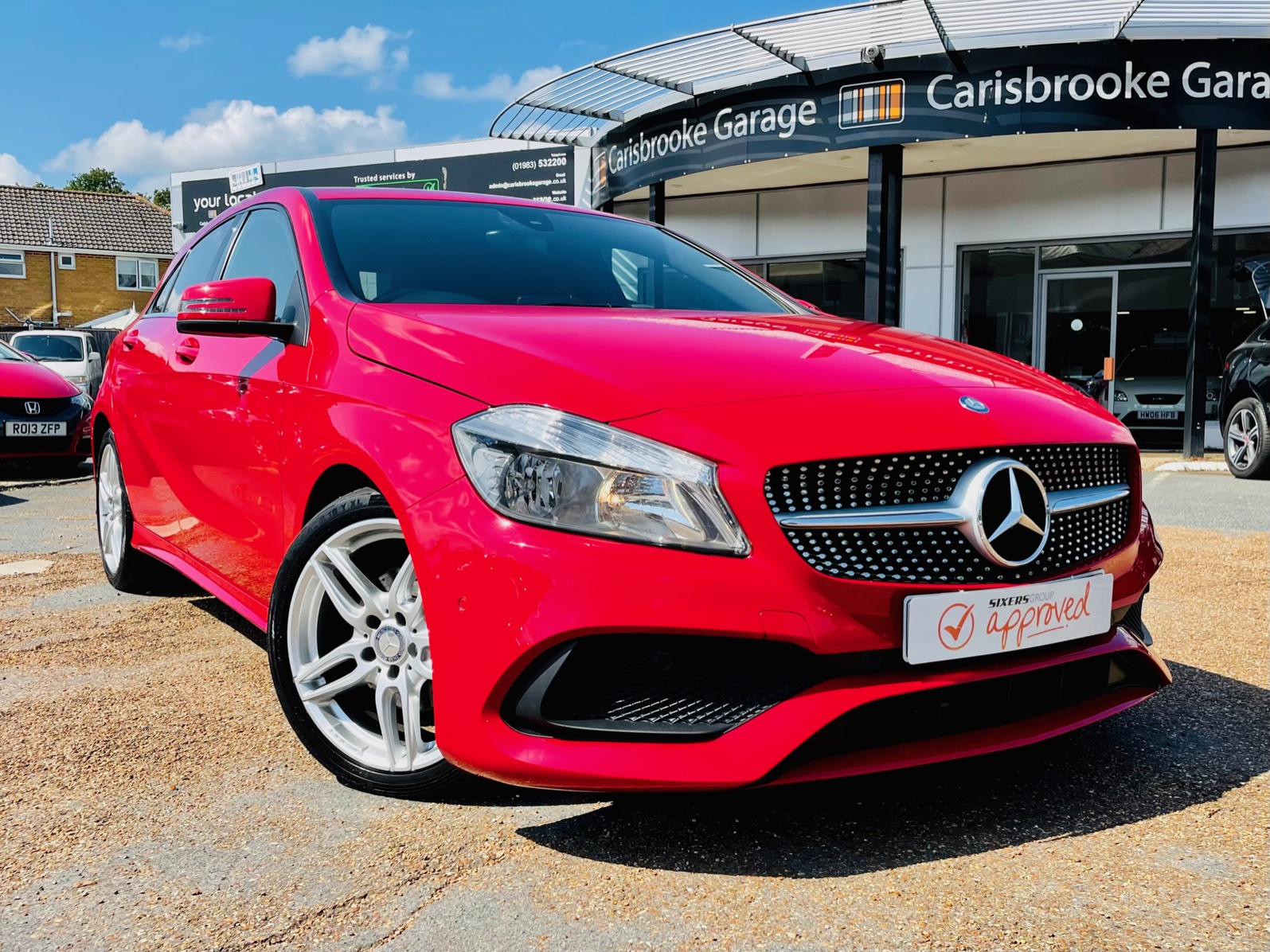 Car For Sale Mercedes A200 - HW16BNU Sixers Group Image #0