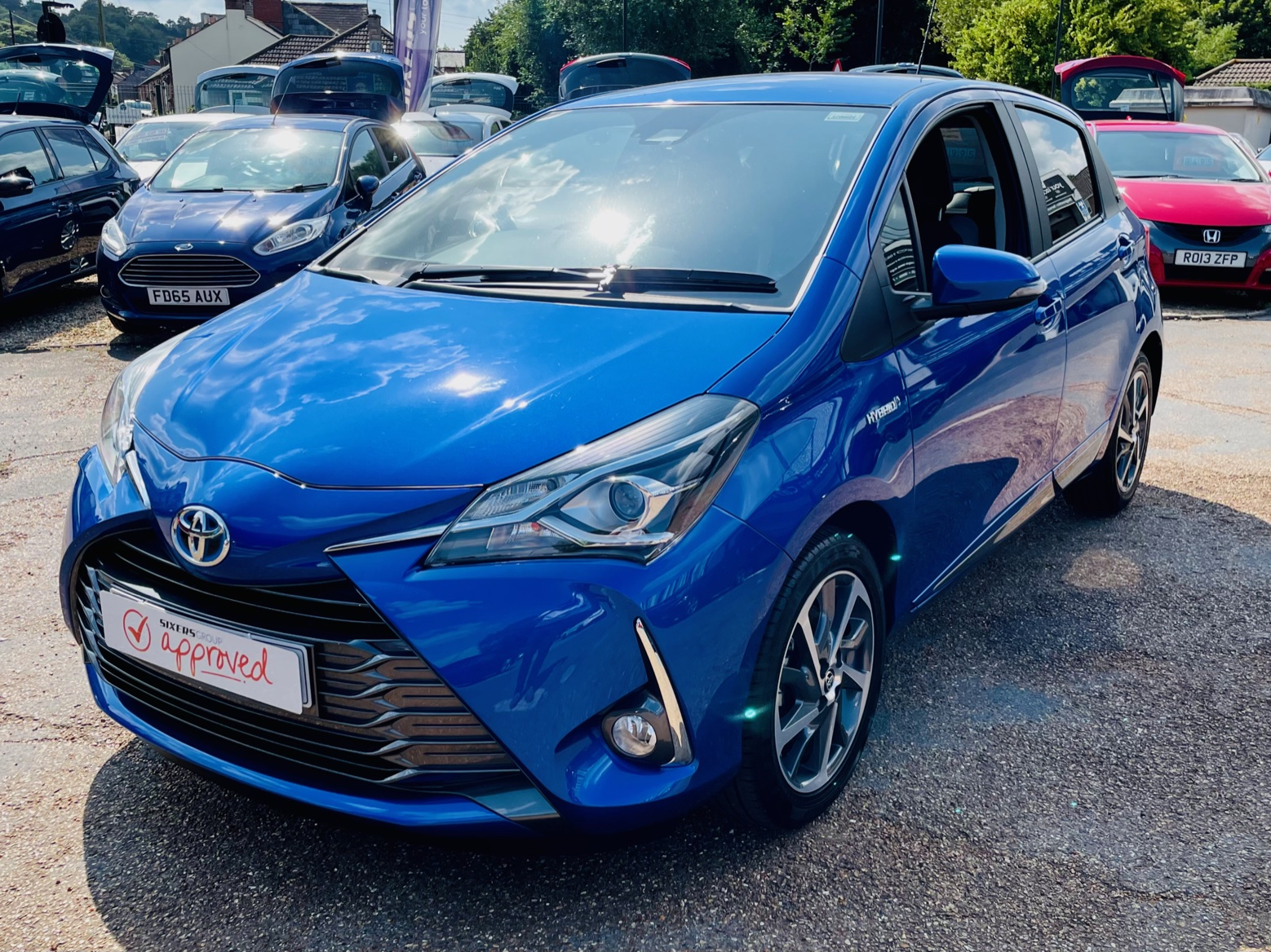 Car For Sale Toyota Yaris - HW20UAK Sixers Group Image #3