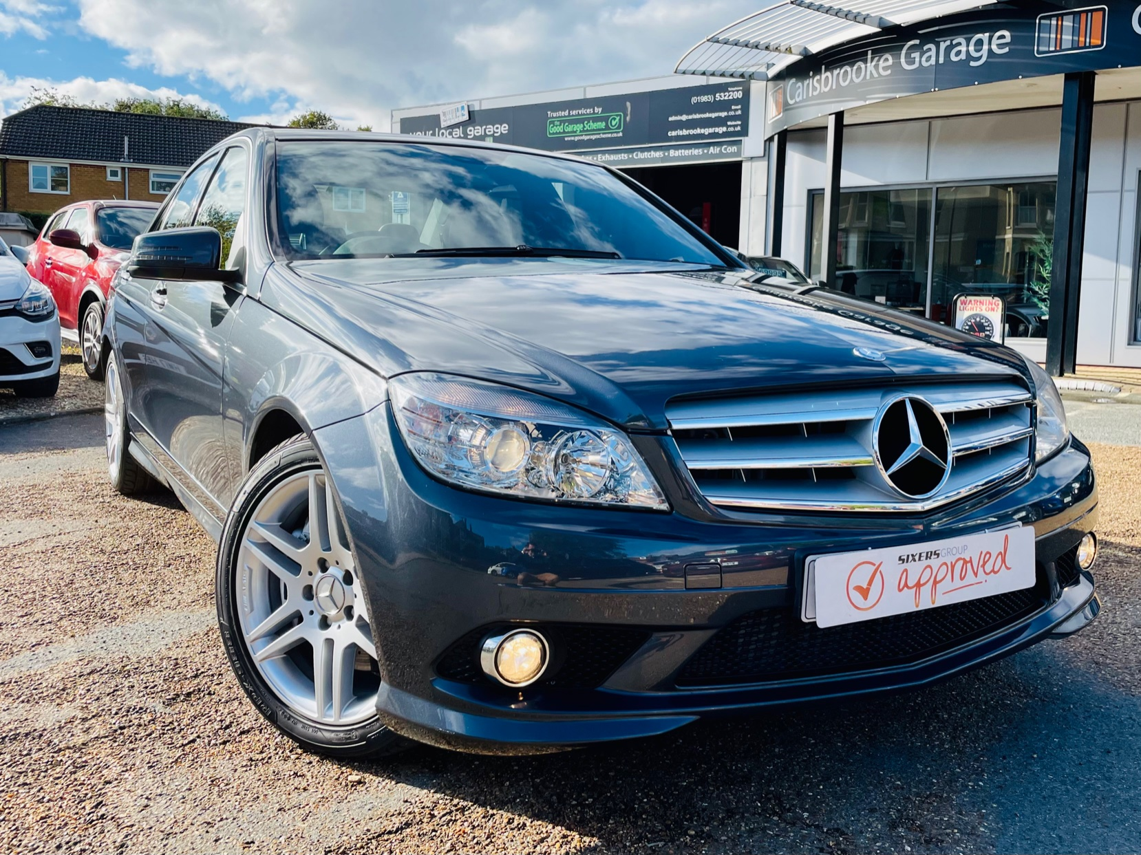 Car For Sale Mercedes C-Class - KP58ZHH Sixers Group Image #0