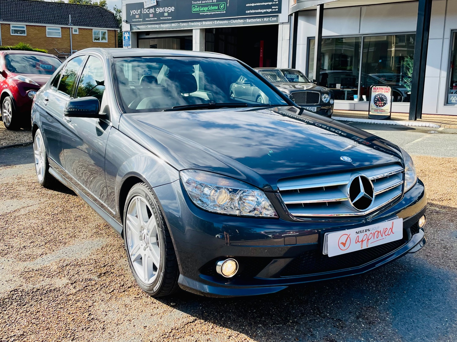 Car For Sale Mercedes C-Class - KP58ZHH Sixers Group Image #1