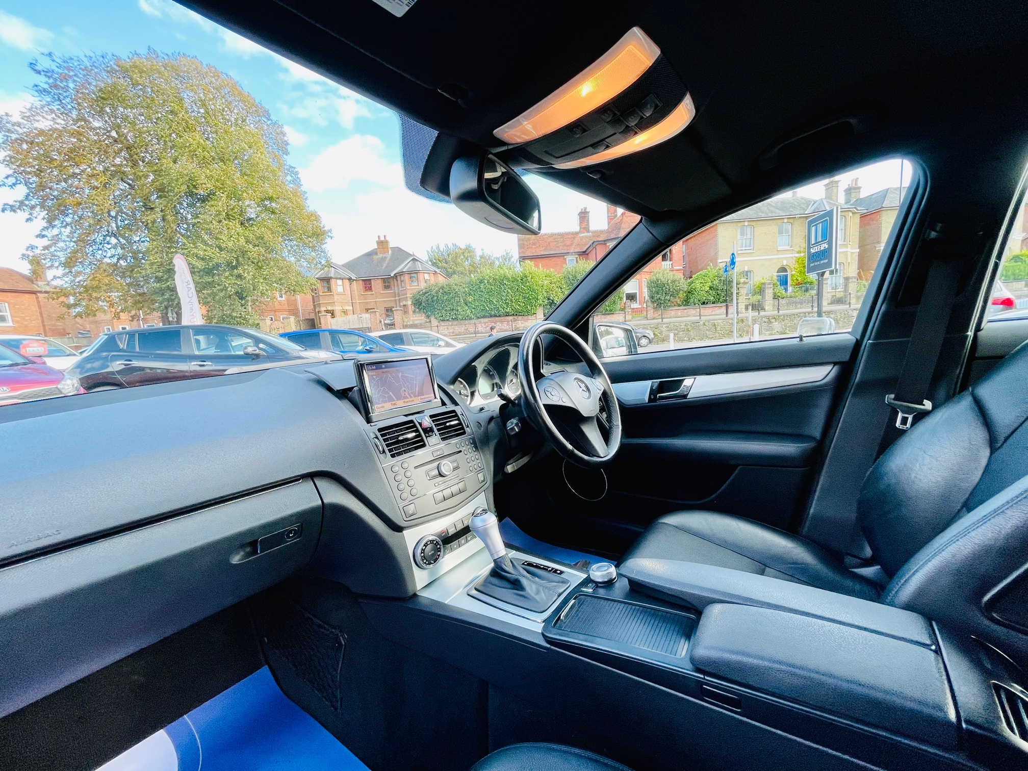 Car For Sale Mercedes C-Class - KP58ZHH Sixers Group Image #7