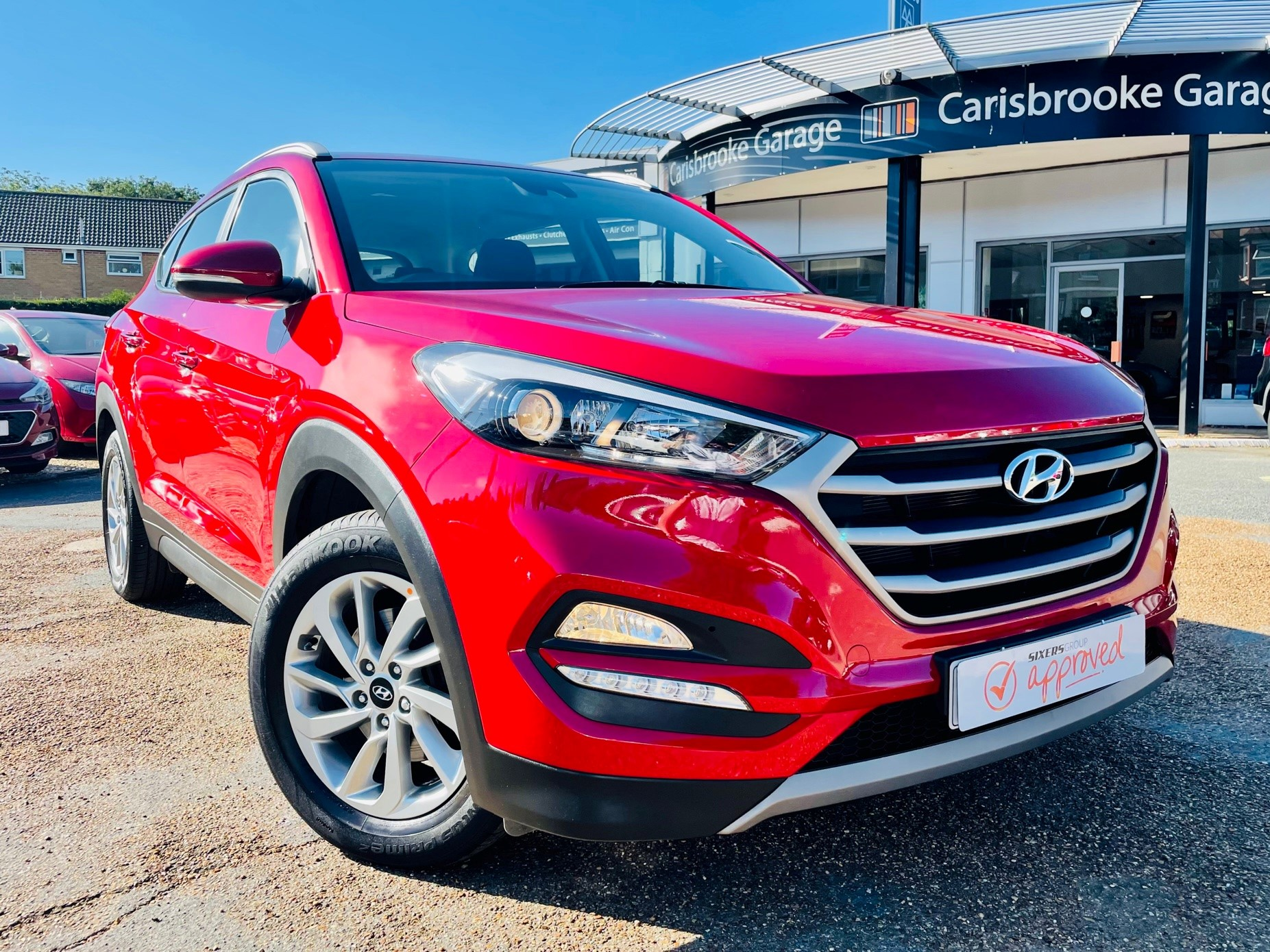 Car For Sale Hyundai TUCSON - PE18YWH Sixers Group Image #0