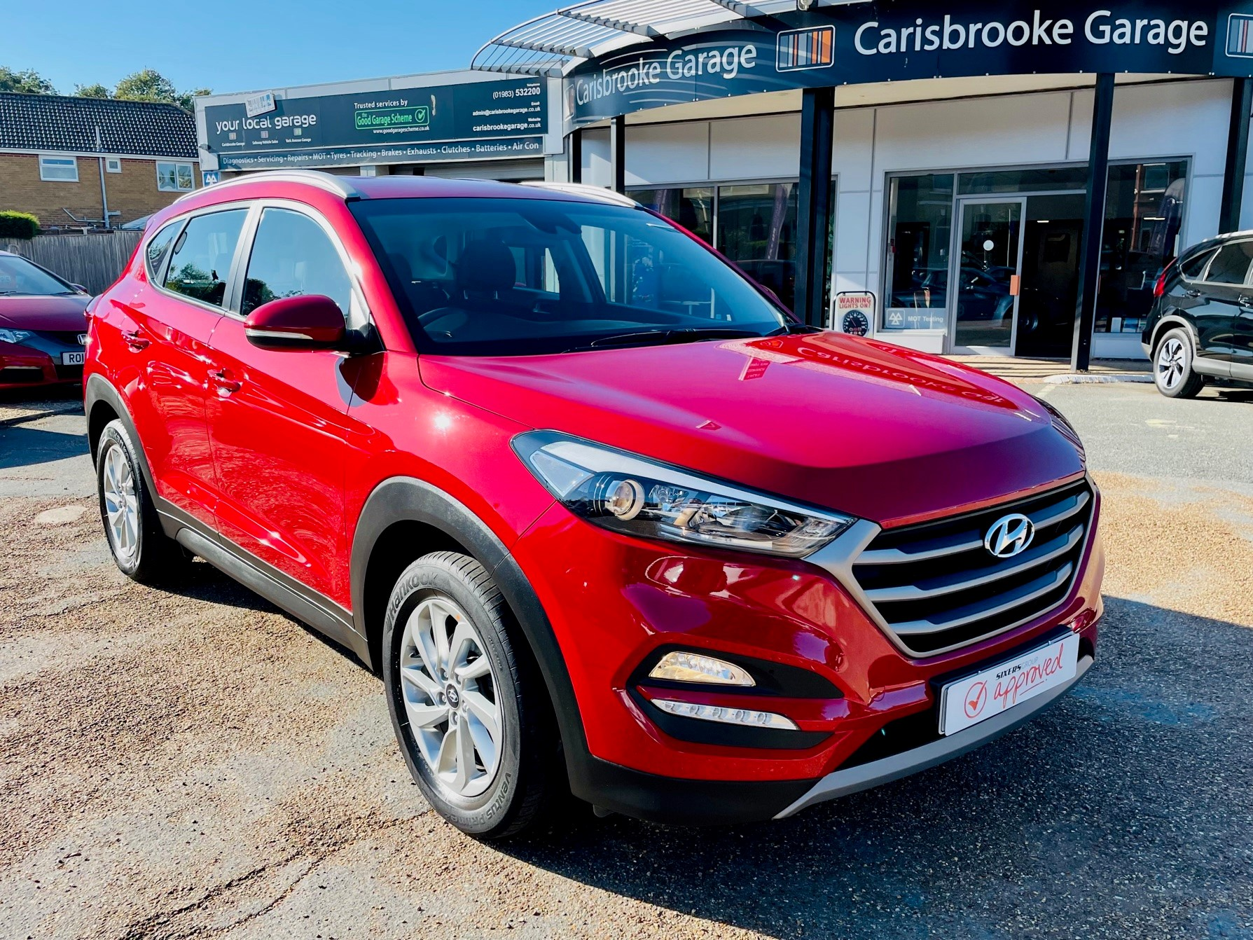 Car For Sale Hyundai TUCSON - PE18YWH Sixers Group Image #1