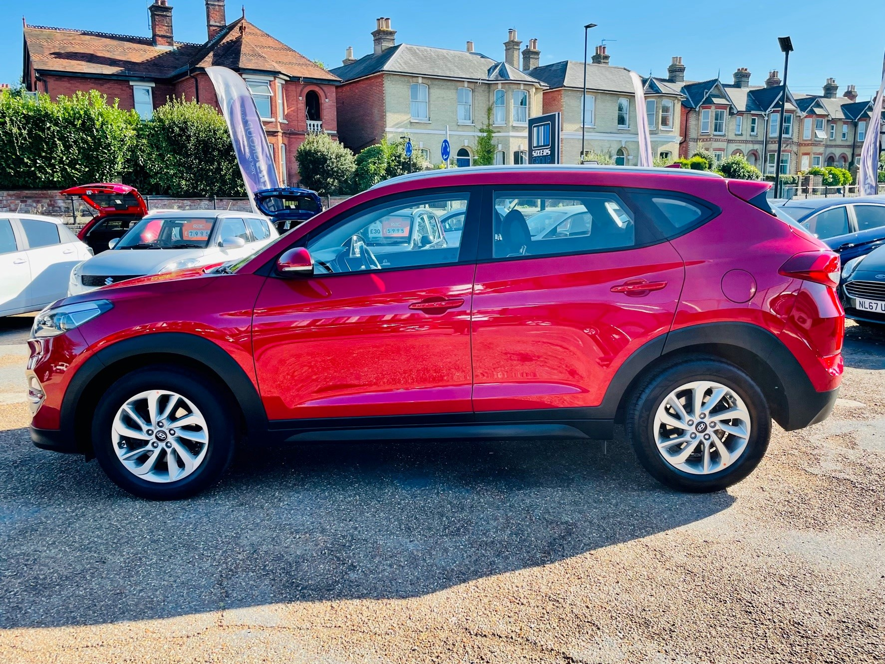 Car For Sale Hyundai TUCSON - PE18YWH Sixers Group Image #5