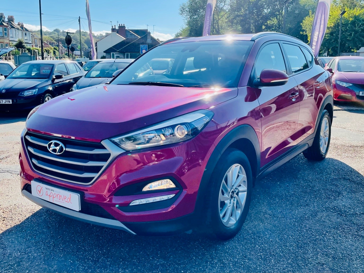 Car For Sale Hyundai TUCSON - PE18YWH Sixers Group Image #6