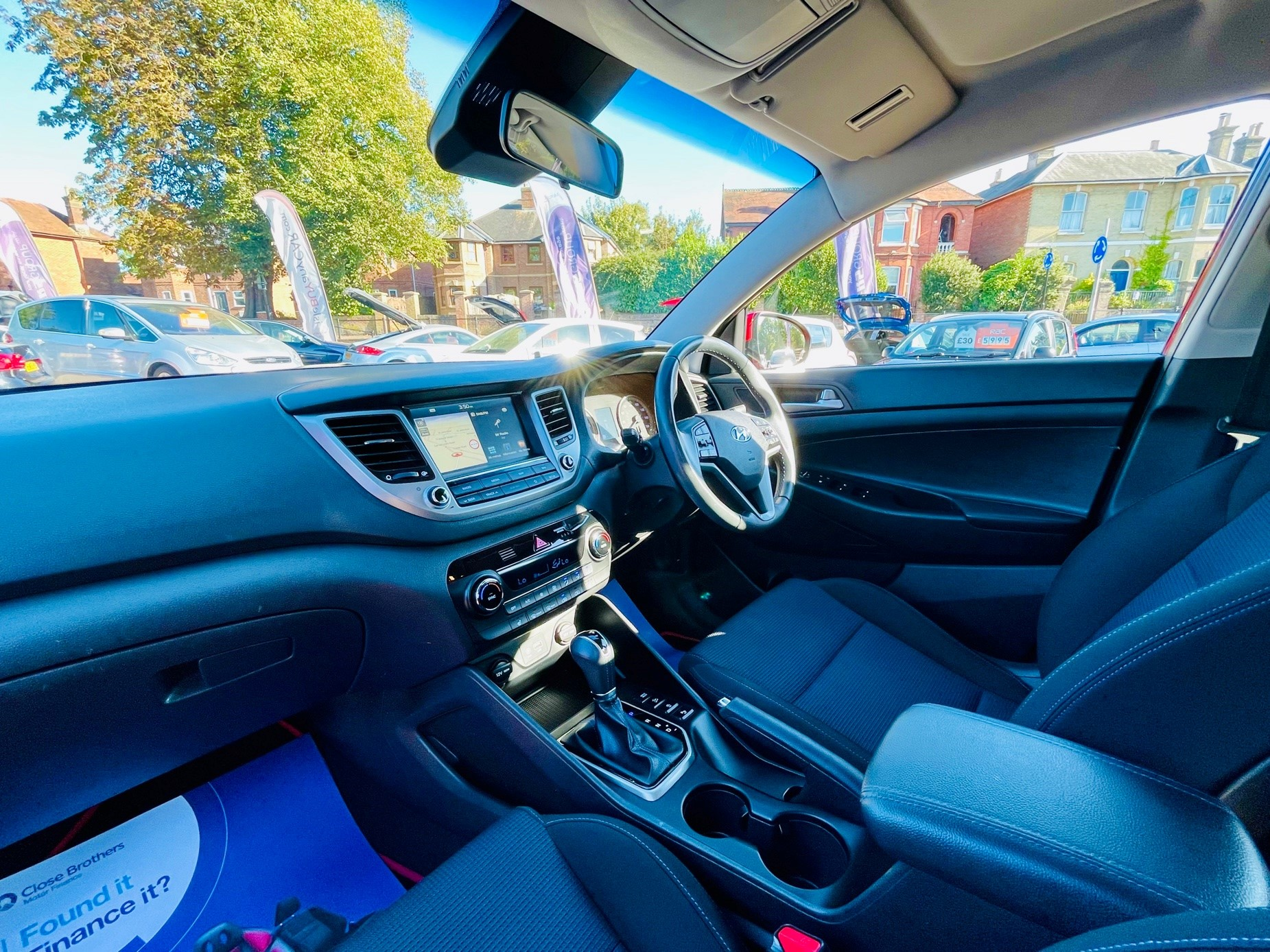 Car For Sale Hyundai TUCSON - PE18YWH Sixers Group Image #7