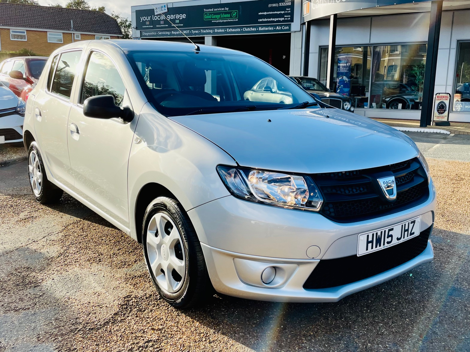 Car For Sale Dacia Sandero - HW15JHZ Sixers Group Image #1